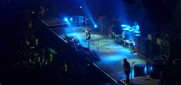 Black Stone Cherry on stage at Wembley Arena
