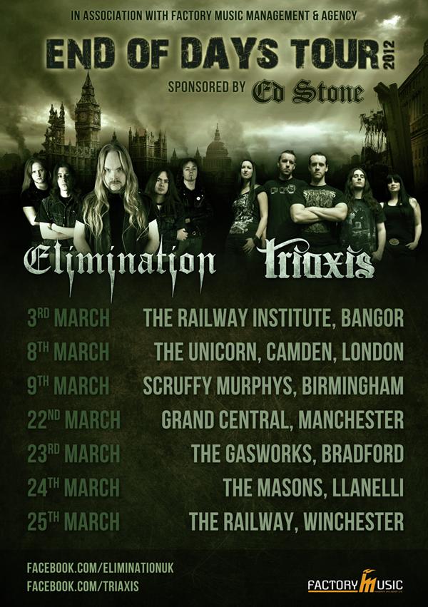 Elimination Triaxis Tour Poster 2012