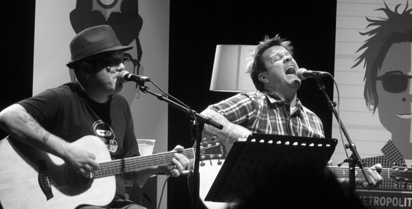 Bowling For Soup Acoustic on stage at Koko London 2012