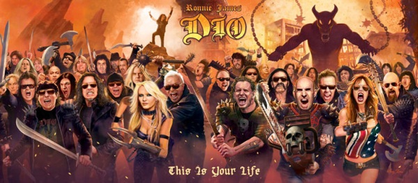 Ronnie James Dio This Is Your Life Full Artwork