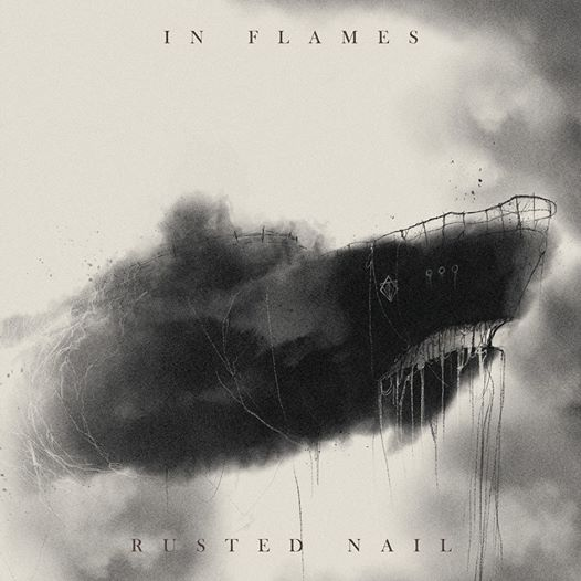 In Flames Rusted Nail Single Artwork