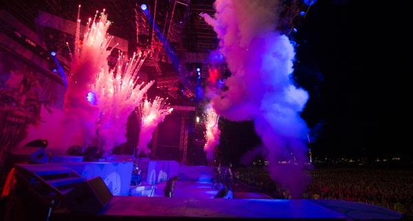 Iron Maiden on the Maiden England World Tour 2014