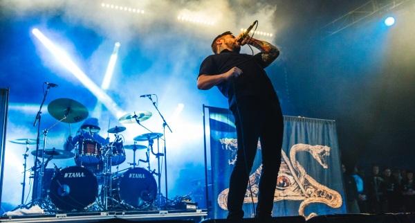 Suicide Silence performing at Download Festival 2014 photo by Derek Bremner