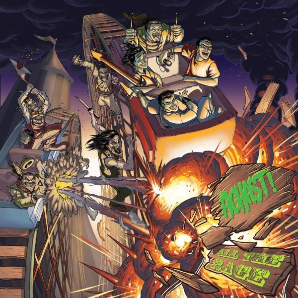 Aghast! All The Rage Album Cover Artwork