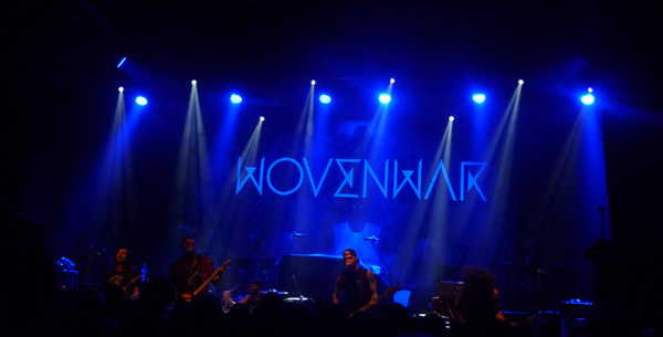 Wovenwar on stage at Shepherds Bush Empire London 2014
