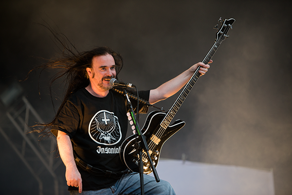 Jeff Walker of Carcass, Bloodstock Open Air 2014 by Tess Donohoe