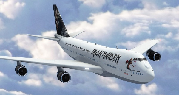Iron Maiden Ed Force One 2015 2016