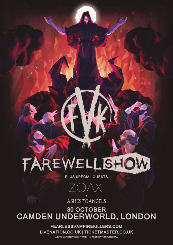FVK Fearless Vampire Killers Final Show Poster Zoax Ashestoangels