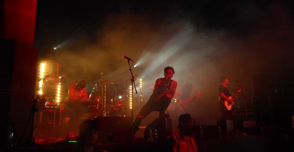 Ashestoangels on stage at Download Festival 2016