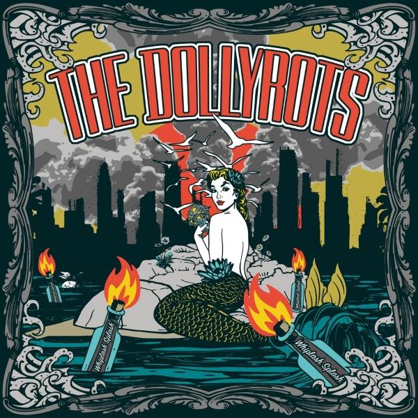 The Dollyrots Whiplash Splash Album Cover