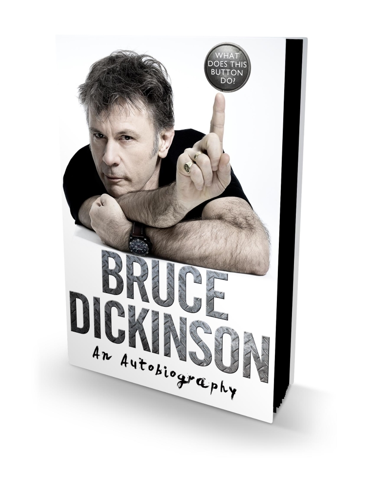 Bruce Dickinson What Does This Button Do Autobiography 3D