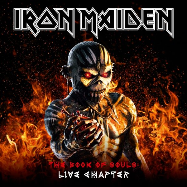 Iron Maiden - The Book Of Souls Live Chapter Album Artwork