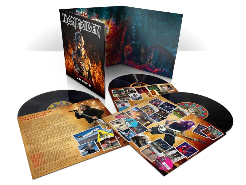 Iron Maiden - The Book Of Souls Live Chapter - triple-vinyl-packshot