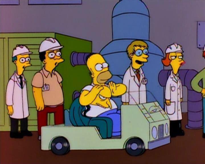 Homer Mr Burns Island Rhythms