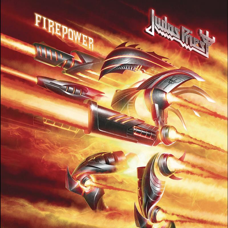 Judas Priest Firepower Album Artwork