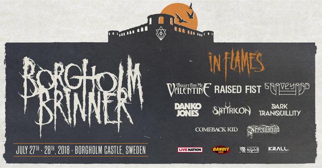In Flames Borgholm Brinner Festival