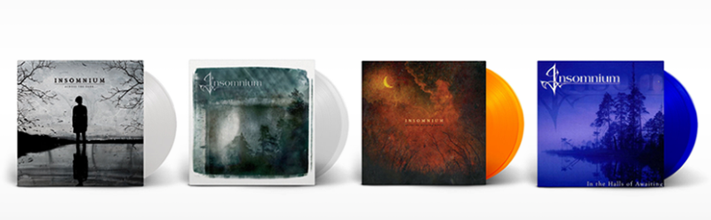 Insomnium Vinyl Re-Issues 2018