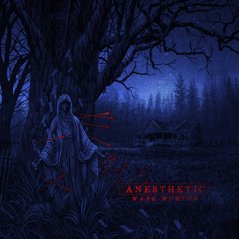 Mark Morton Anesthetic Album Cover Artwork